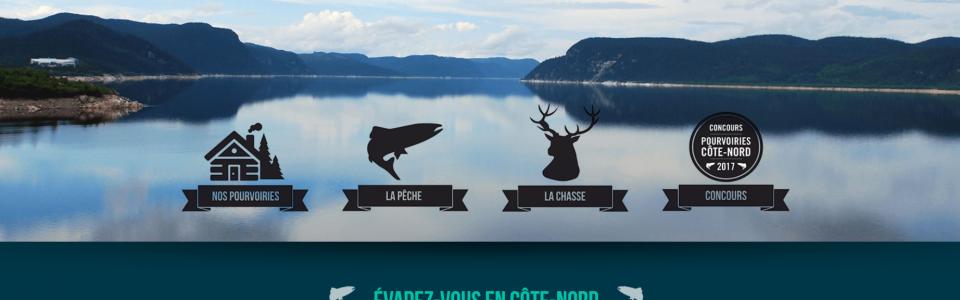 Pourvoiries Côte-Nord